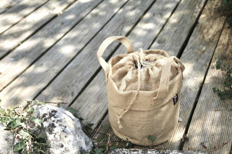 sac toile jardin