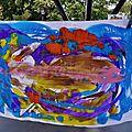 La grande lessive CAUDROT 19 octobre 2017 (10)