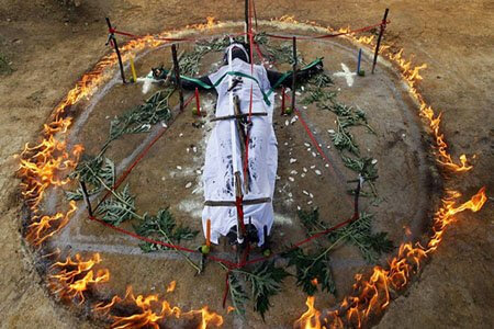 exorcisme par le feu