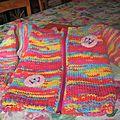 veste au tricot pour une princesse