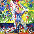 The spirit of sprots from leroy neiman paintings