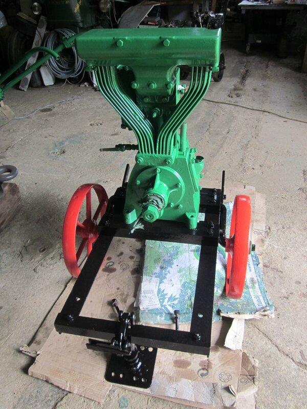 Restauration moteur Bernard W1