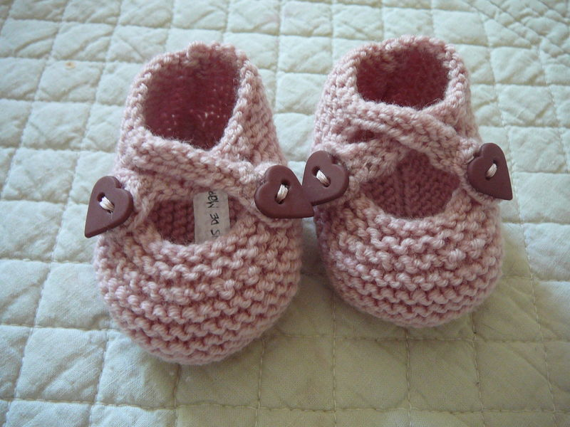 Chaussons pour Mayanne (taille naissance)