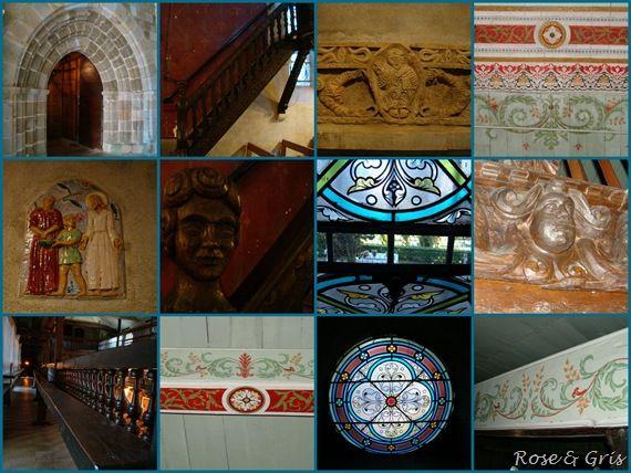 église arcangues détails intérieur pf