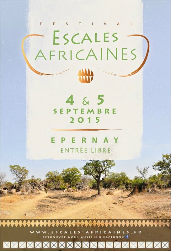 affiche escales africaines 2015