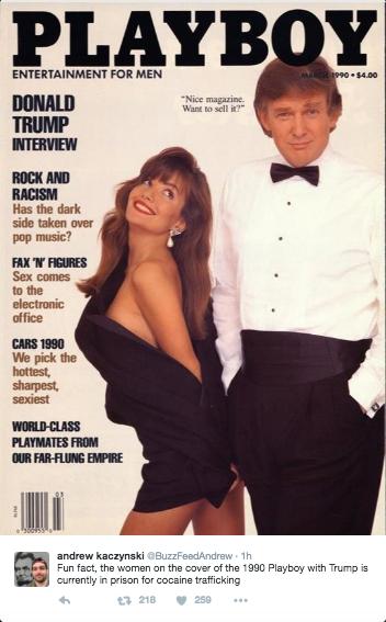 Donald Trump et Playboy