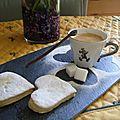 Biscuits facile à la fleur d'oranger