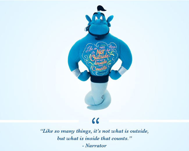 octobre 2019 - disney wisdom - genie - citation