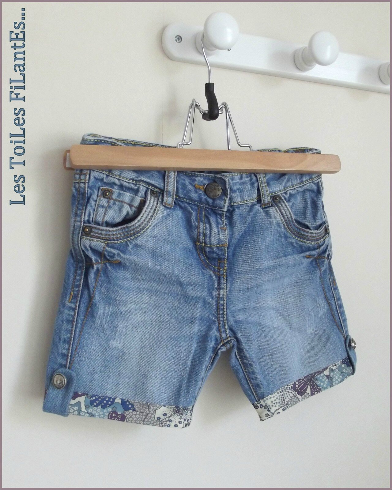 Transformation jeans et tee-shirt assorti Delphine9