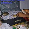 La valise de billet de banque du maitre daho kpingla