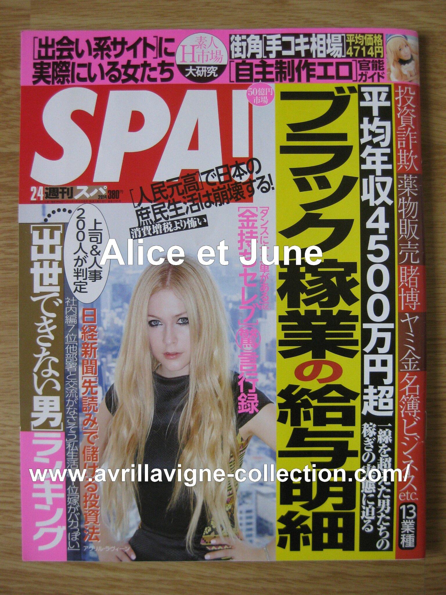 SPA! magazine-Japon (février 2014)
