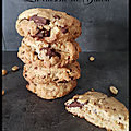 Cookies chocolat - cacahuètes