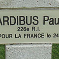 Ardibus jean-baptiste paul (saint hilaire sur benaize) + 27/12/1914 carency (62)