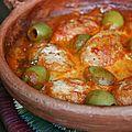 Tajine de rognons blancs aux olives