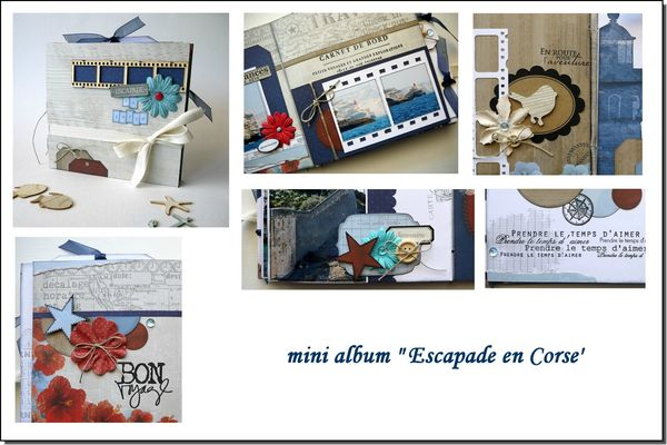 visuel mini album Escapade en Corse