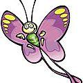 Des papillons à une étoile