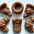 Moelleux hyperprotéinés pomme raisin cacao aux 7 céréales et aux graines de chia
