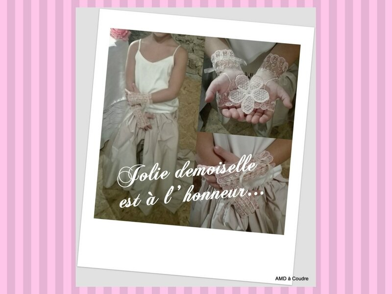 MARIAGE WEDDING ACCESSOIRES BRODERIE DENTELLE AMD A COUDRE (19)
