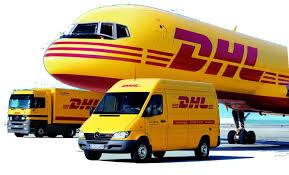 Envoi du colis par DHL , UTB ou par La POSTE la plus proche de vous .