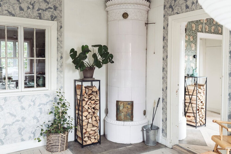 Florals+and+Original+Details+in+a+Traditional+Swedish+Home+-+The+Nordroom