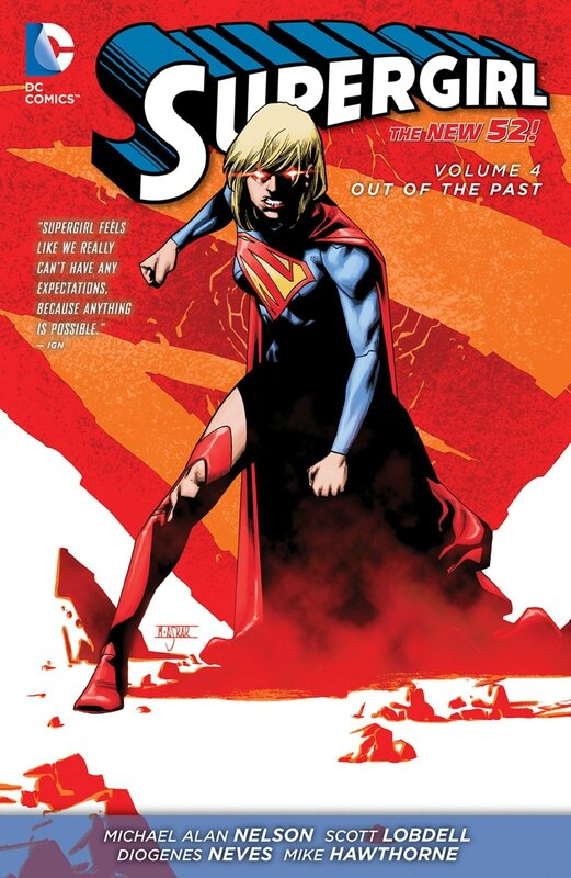 supergirl vol 4 out of the past TP