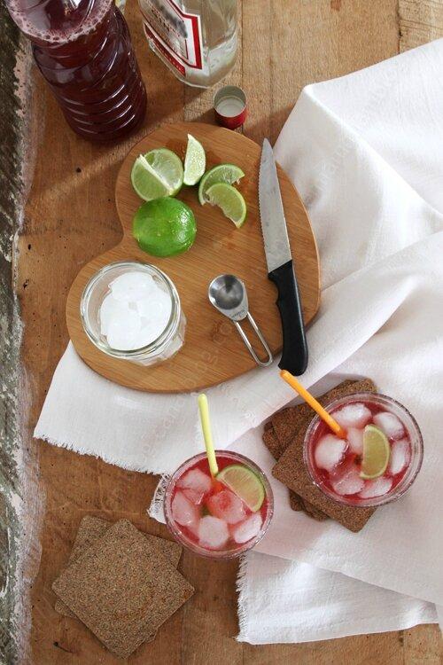 recette de saint Valentin cocktail rose gin cranberry 0003 LE MIAM MIAM BLOG
