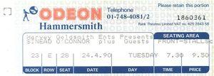 1990_04_Sinead_OConnor_Hammersmith_Odeon_Billet