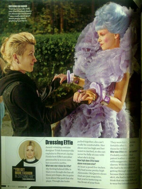 Effie Catching Fire