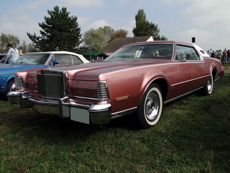 LINCOLN Continental Mark IV Hardtop Coupe 1975 Nesles Retro Expo 2009 1