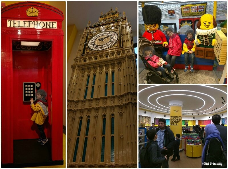Legostore et M&M's World ©Kid Friendly