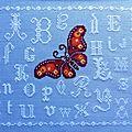 Abécédaire au papillon: objectif n°2