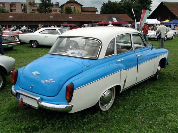 wartburg 311 1000 berline 1962 1966 b