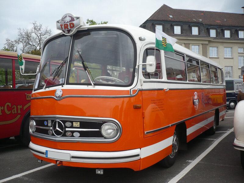 MERCEDES O321H Reisebus Speyer (1)