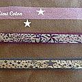 Deux nouveaux bracelets en liberty qui vont