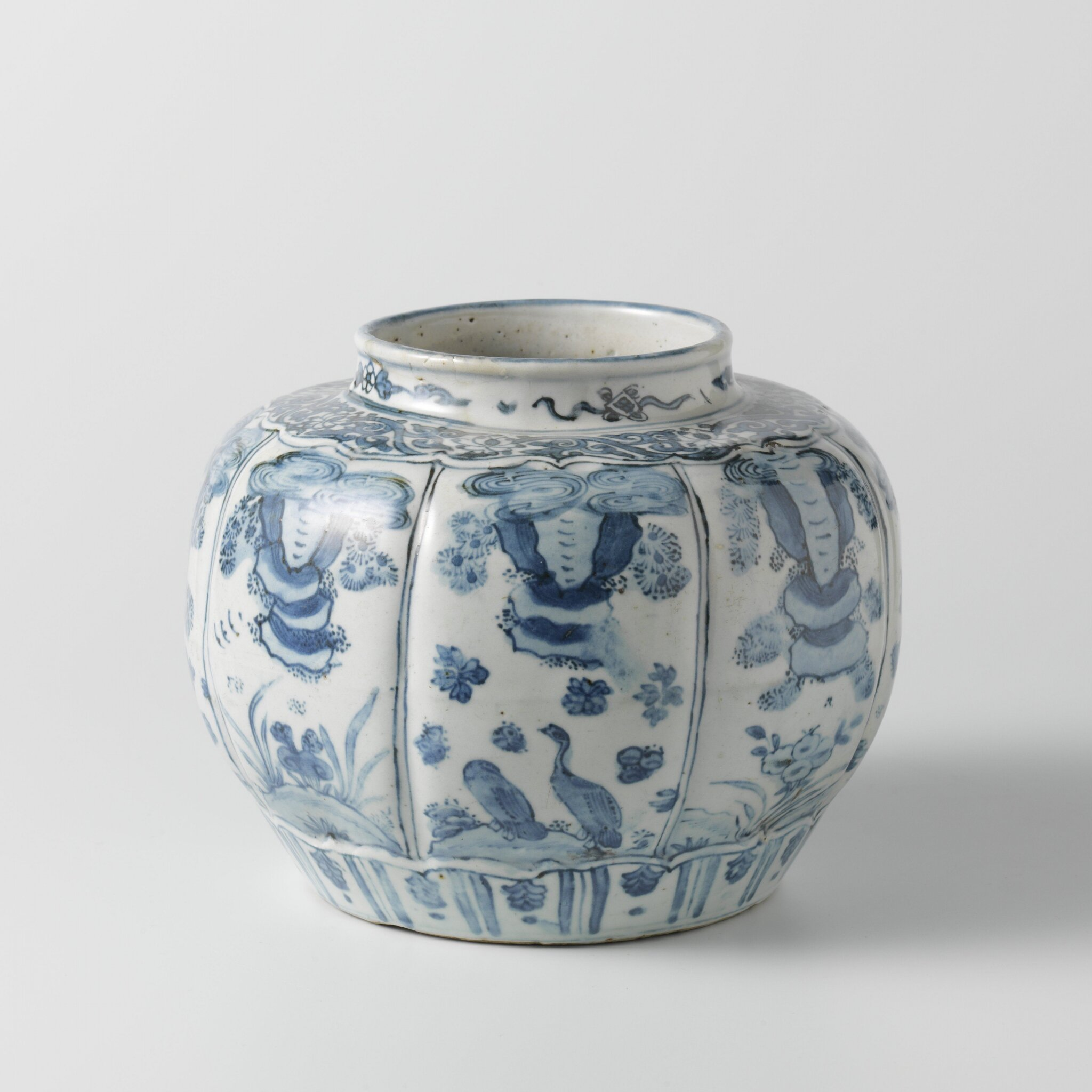 Melon-shaped jar, Wanli period, 1575 - 1600