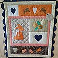 Quilt country bunny love (fin)