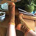 Les chaussettes de janvier!