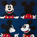 4 portraits de mickey