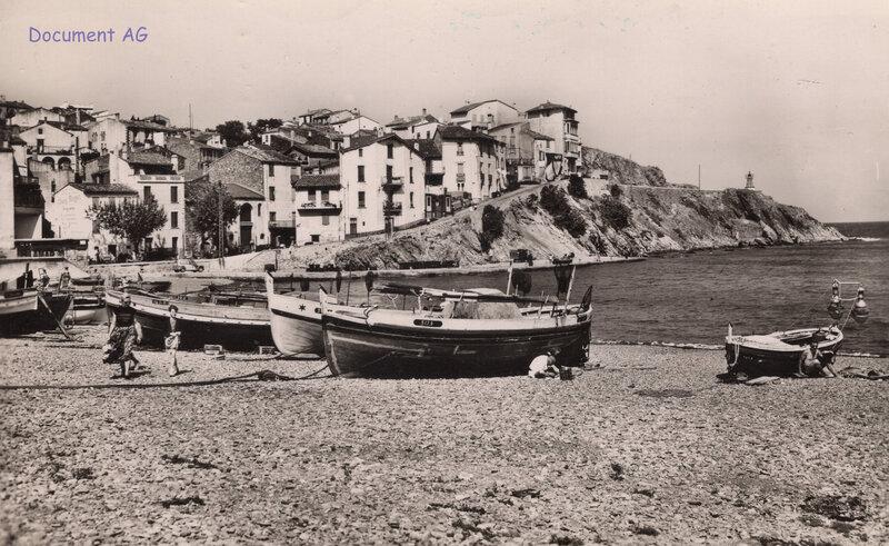 687 La montée du Cap Donne 1956