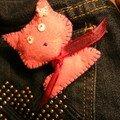 chat rose pour emma