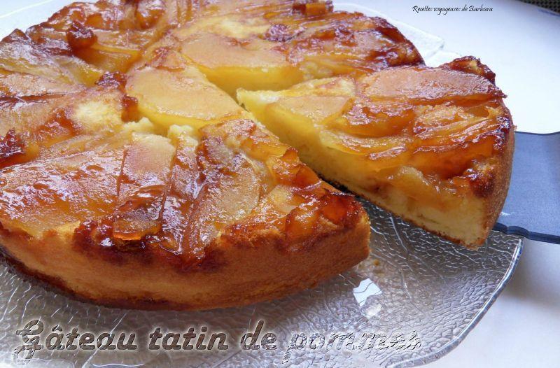 Cake Au Pomme Facon Tatin