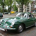 PORSCHE 356C 1600 SC coupé Strasbourg (1)