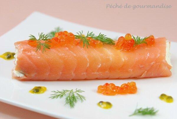 cannellonis de saumon fum ufs de saumon fruit de la passion p ch de gourmandise. Black Bedroom Furniture Sets. Home Design Ideas