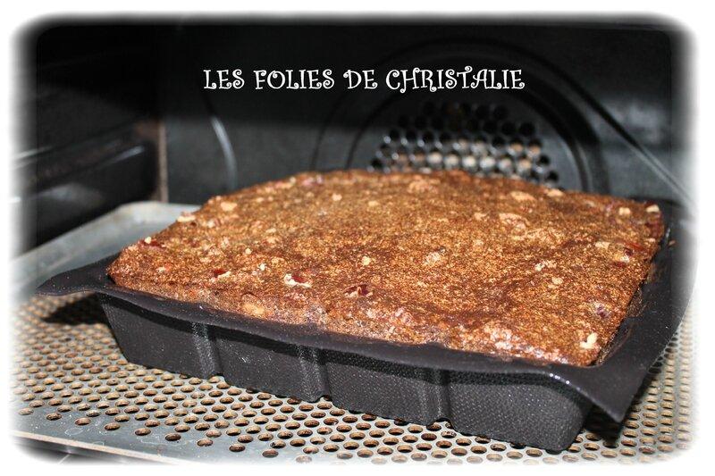 Gâteau magique brownie 11