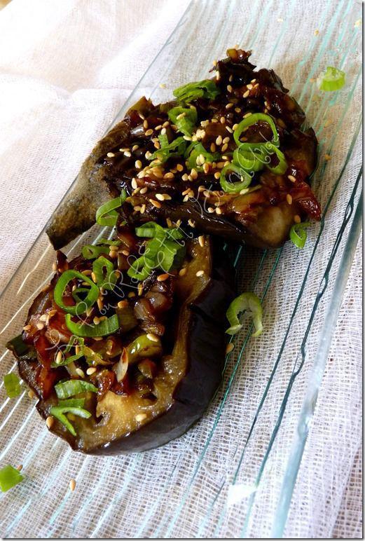 Aubergines à l'asiatique