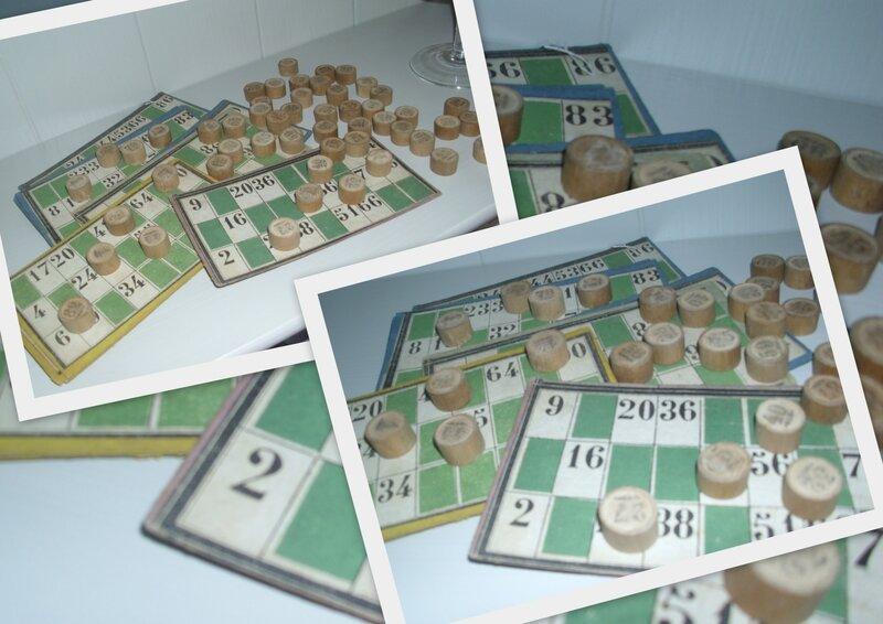 Cartes de Loto + Jetons