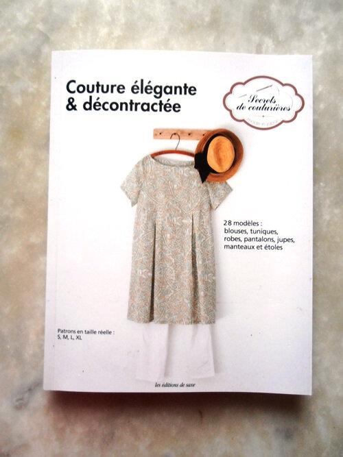 Livre couture élégante