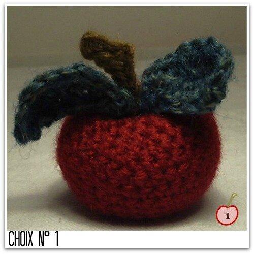 pomme au crochet n1