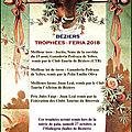 Feria de béziers - trophées 2018