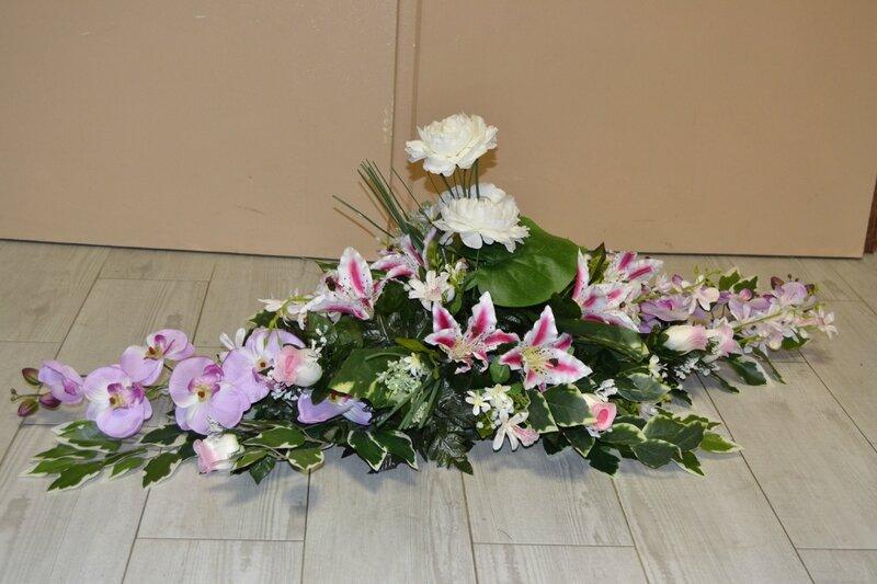 raquette de fleurs pour deuil (5)